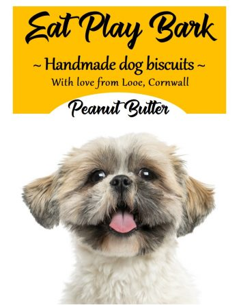 Cornish Dog Biscuits Witty Small Pot Label