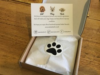 Dog Biscuit Give Away Box